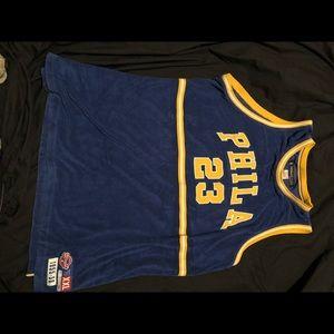 Vintage Reebok Philadelphia Warriors jersey